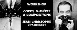 """Workshop """"Corps, Lumières et Composition"""" avec Jean-Christophe Rey-Robert"""