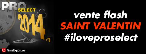 Vente Privée de la Saint-Valentin - ProSelect