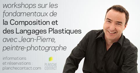 Workshop Composition et Langages Plastiques avec Jean-Pierre