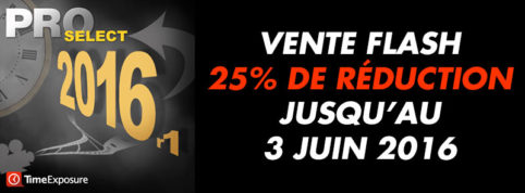 Vente Flash ProSelect : 25% de réduction