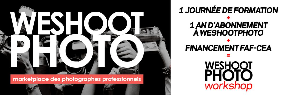 Formations pour les photographes professionnels - PlancheContact - Marketplace WeShootPhoto Workshop
