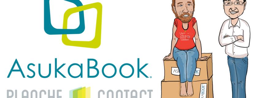 Au revoir AsukaBook ! XOXO PlancheContact