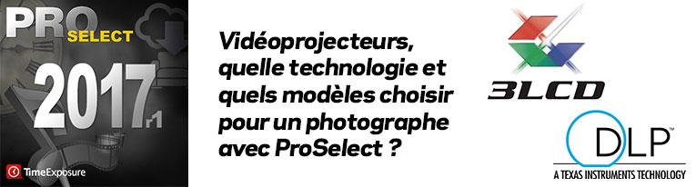 Quel vidéoprojecteur choisir pour un photographe ?