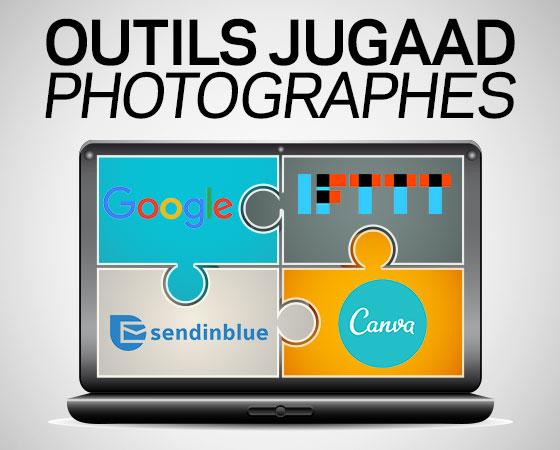 Formations pour les photographes professionnels aux logiciels marketing gratuits pour les photographes Jugaad