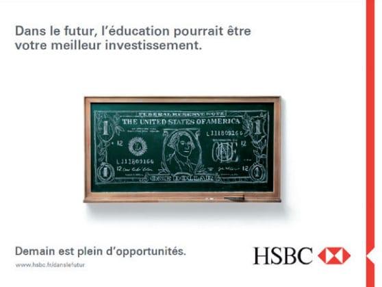 Campagne HSBC - FAF-CEA - Formations des photographes professionnels avec PlancheContact