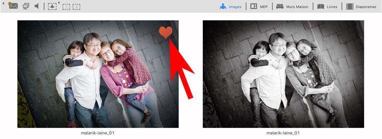 ProSelect : Influencez vos clients en taguant vos images préférées