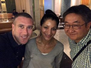 Sonia & Padraic Deasy avec Samuel Malarik - Las Vegas, juillet 2017