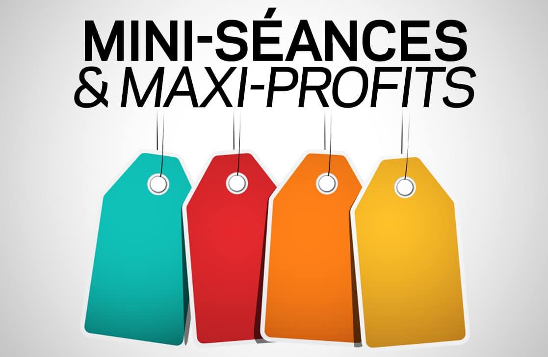 Centre de formation pour devenir photographe professionnel : Formation Mini-Séance & Maxi-Profits