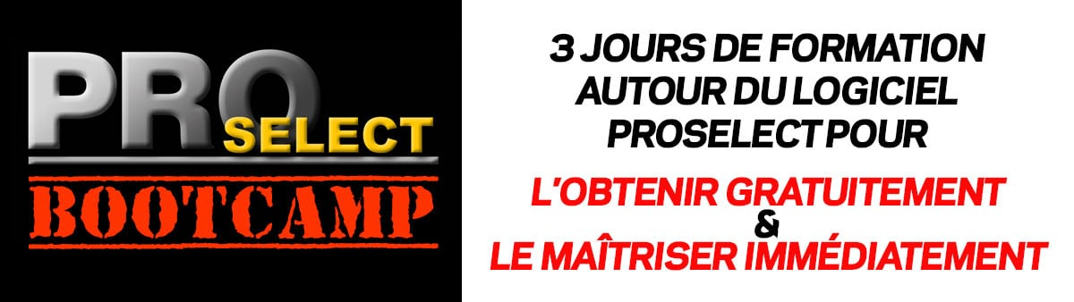 Formation ProSelect BootCamp pour les photographes