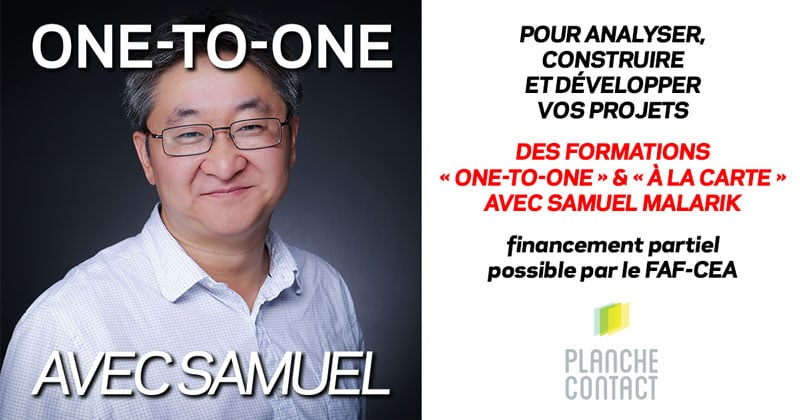 Coaching & One-to-One pour les photographes professionnels avec Samuel Malarik