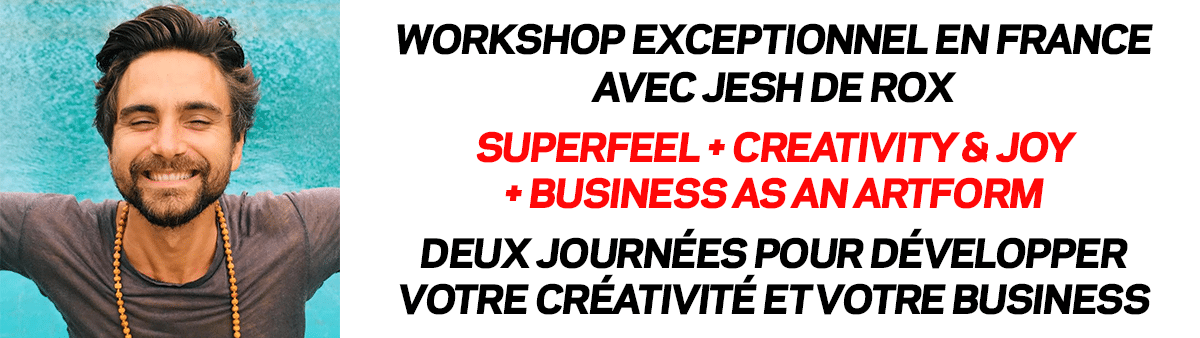 Jesh de Rox - Workshop en France avec PlancheContact