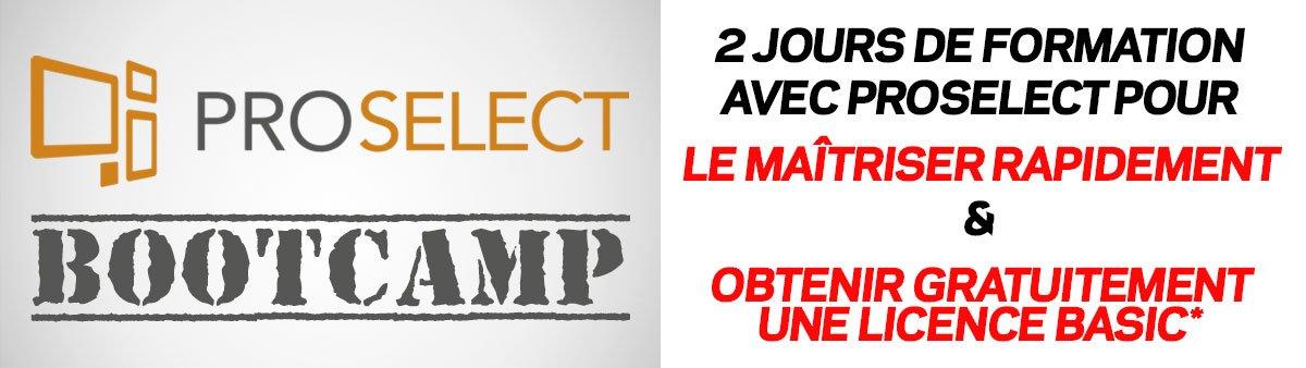 Formation ProSelect BootCamp - Belgique et Québec