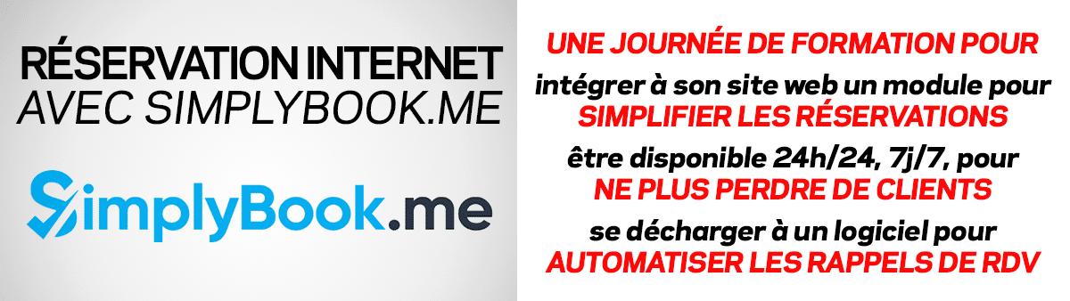 Formation système de réservation par Internet avec SimplyBook.me