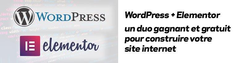 WordPress + Elementor pour les sites Internet des artisans