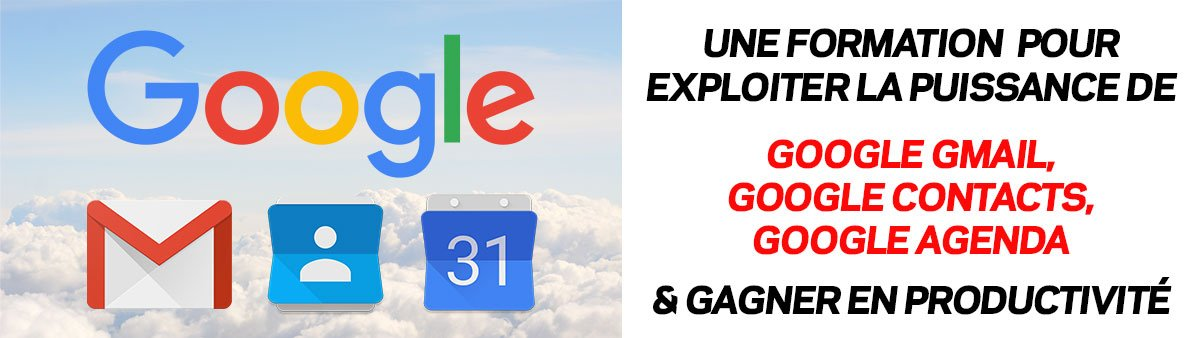 Google Gmail pour les Artisans + Google Contacts & Google Agenda