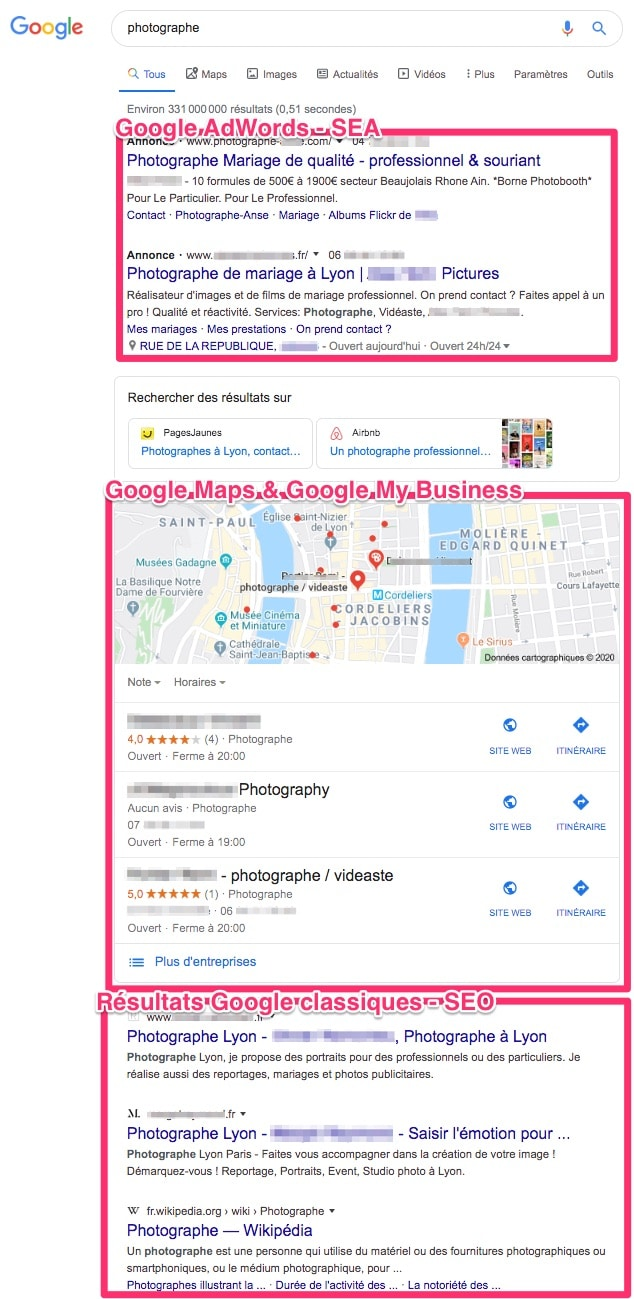 SEO local avec Google My Business