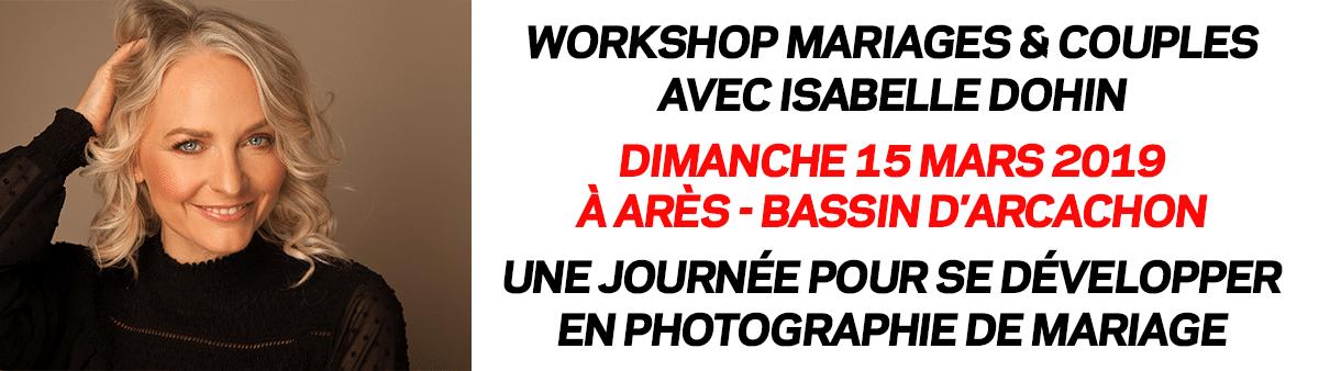 Workshop Mariages & Couples avec Isabelle Dohin