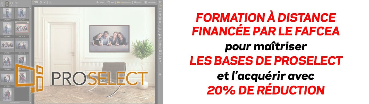 Formation à distance ProSelect Basic