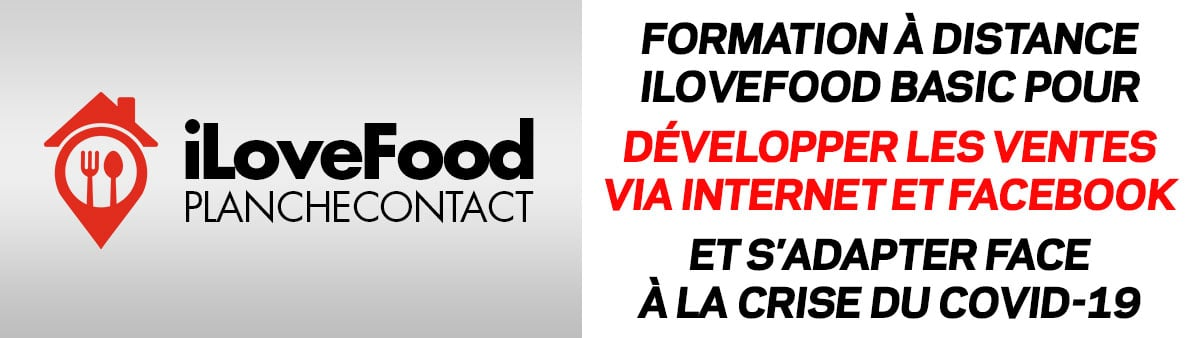 Formation iLoveFood Basic à distance