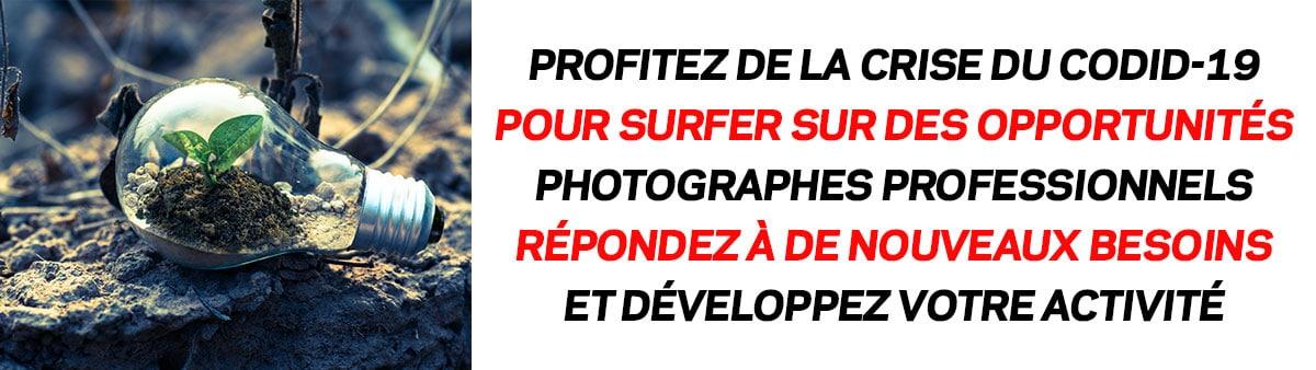 COVID-19 : Des opportunités pour les photographes
